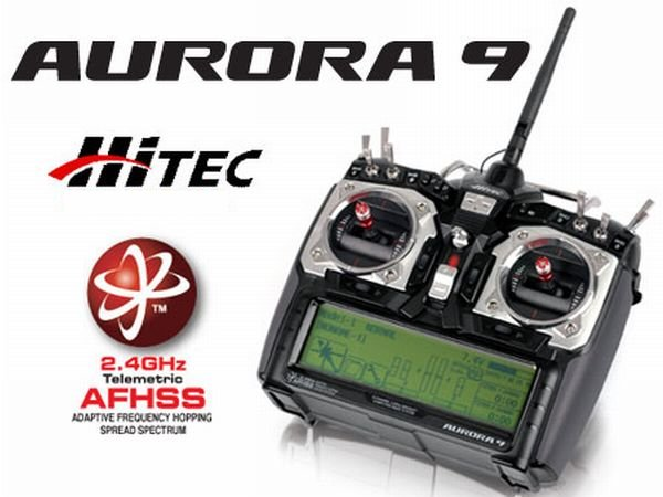 Hitec Aurora 9 + Optima 9